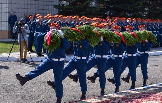 В Казани прошли торжества, посвященные Дню пожарной охраны России