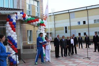 Р. Минниханов побывал на открытии спорткомплекса