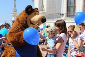 На День защиты детей в Казани запланировано множество праздничных мероприятий
