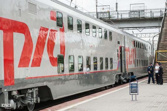 Фирменный двухэтажный поезд начнёт курсировать между Москвой и Казанью