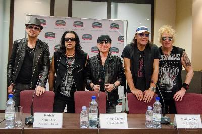 ���������� ������ ������� � �����-������ ��� ������ Scorpions