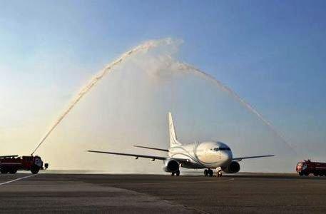Первый рейс из Сочи авиакомпании