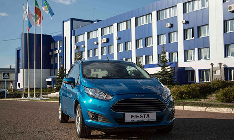 � ���������� ������ ����������� Ford Fiesta