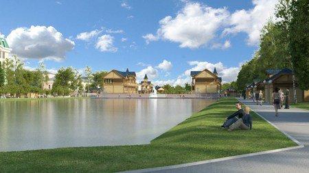 С 20 июня начнутся работы по реконструкции парка «Чёрное озеро»
