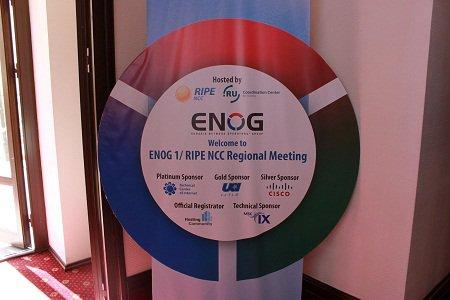 �� ENOG 9/RIPE NCC ������� ���������� ��������� ��������
