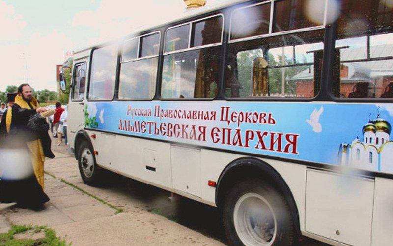 Новый православный храм-автобус появится в столице Татарстана
