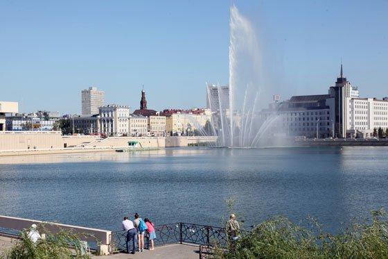 Концепции развития набережных Казани будут рассмотрены в течение лета