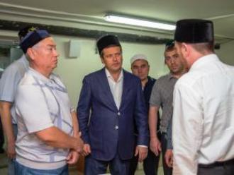 И. Метшин посетил мечеть