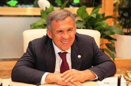 Р. Минниханов посетил чувашский праздник