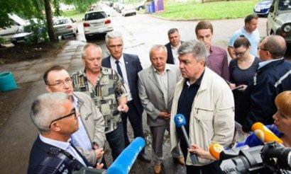 Н. Магдеев лично проверил ход работ по строительству жилых домов в Челнах