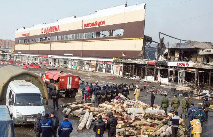 Потерпевшие по делу сгоревшего ТЦ «Адмирал» выдвигают иски на более чем 1,4 миллиарда рублей