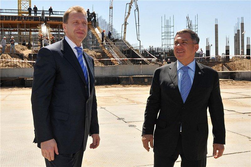 Шувалов пообещал учесть опыт Татарстана в части жилищного строительства