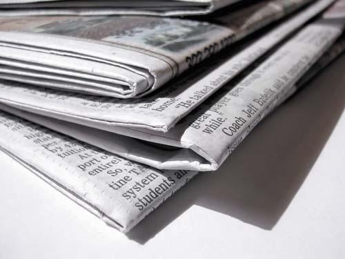 Секреты газетной бумаги