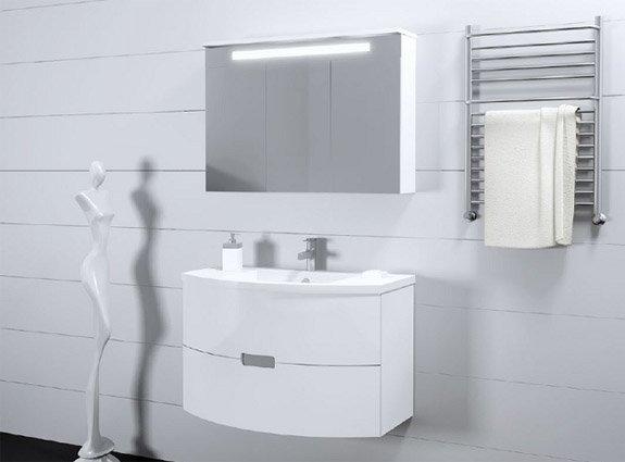 Подвесная мебель для ванной: основные преимущества