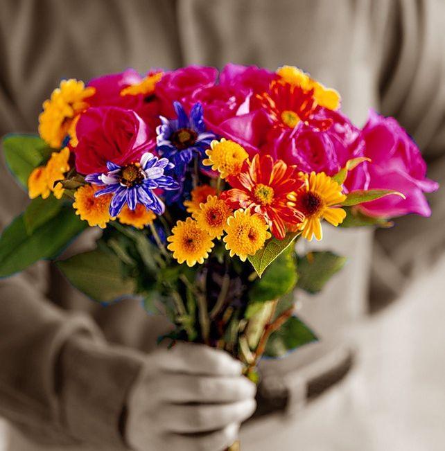Дарите цветы по поводу и без повода