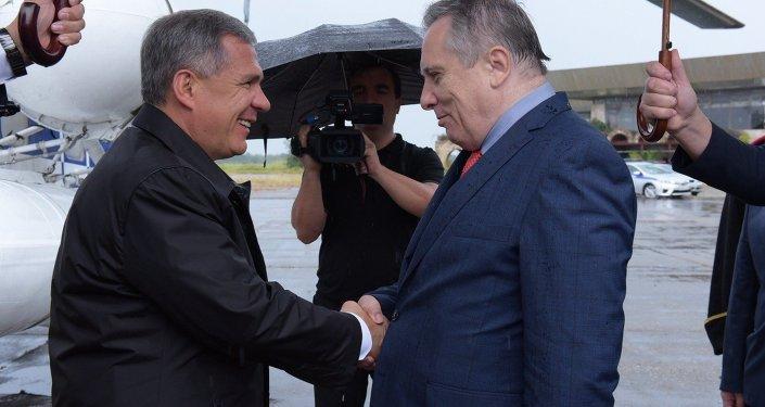 Рустам Минниханов впервые отправился в Республику Абхазию с официальным визитом