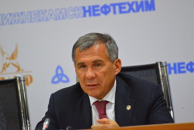 Рустам Минниханов посетил столицу нефтехимии