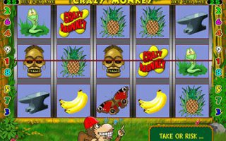 Игровой автомат онлайн Crazy Monkey 3
