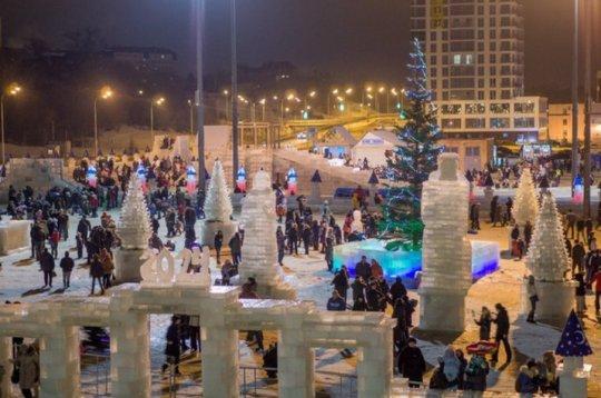 Новогодние планы Казани