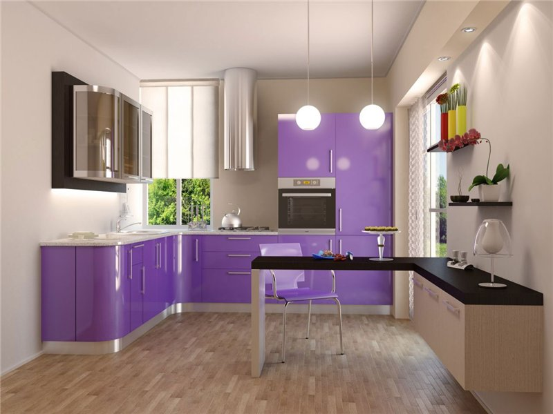 Обзор кухонной мебели из пластика от компании «МАСТЕР МЕБЕЛЬ»