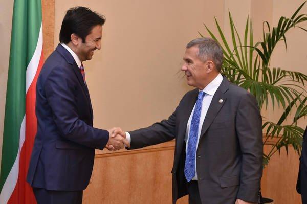 Президент Татарстана провёл переговоры с руководителем ряда турецких компаний