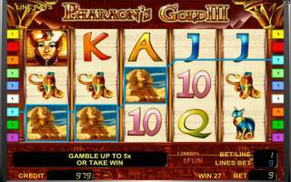 ������� ������� Pharaoh's Treasure