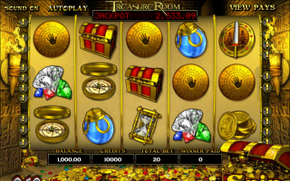 ������� ������� ��������� � Treasure Room