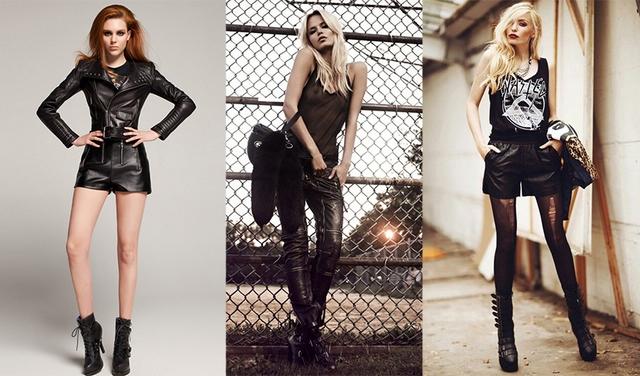Рок-одежда развивалась параллельно появлению новых направлений этого жанра