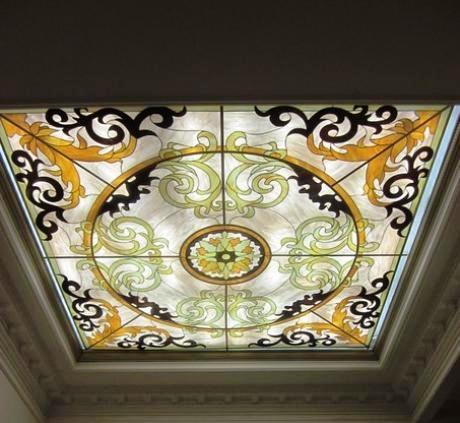 Мечеть в Свияжске украшают стеклянными витражами
