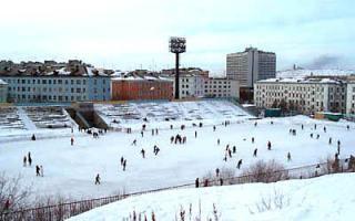 В Казани открылся ледовый каток
