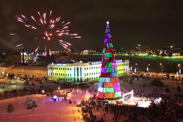 Казань установила новый новогодний рекорд по количеству туристов