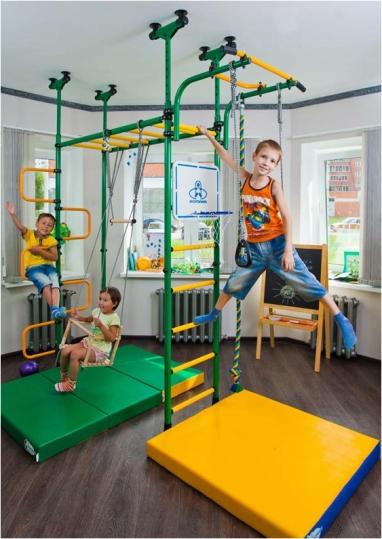 Детский спортивный комплекс для дома – занимайтесь спортом без проблем!