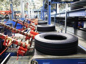Нижнекамский завод шин ЦМК достиг проектного уровня производства