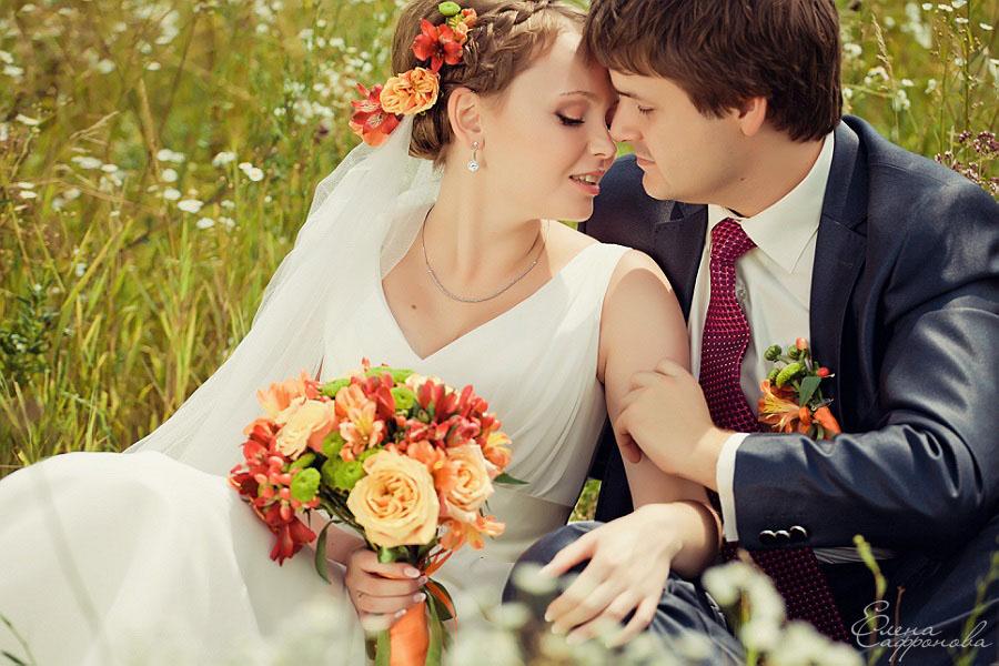Свадебная фотосессия от Елены Сафроновой