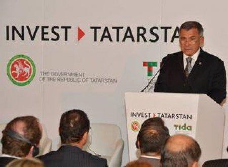 Объем ежедневных инвестиций в Татарстан составляет более 2 млн долларов