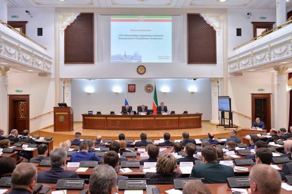 В столице Татарстана состоялось заседание республиканского Совета безопасности на тему продовольственной безопасности