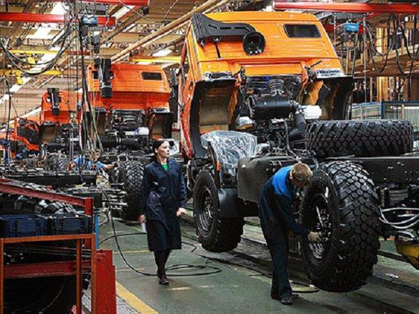 КАМАЗ отчитался о перевыполнении плана на 110%