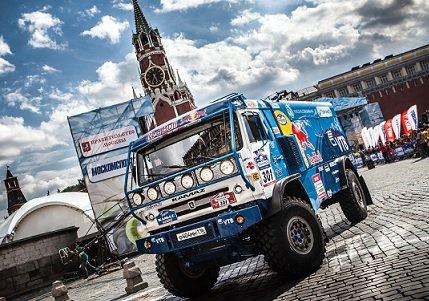 Путин поздравил команду КамАЗ спобедой вралли «Шёлковый путь. Москва— Пекин»