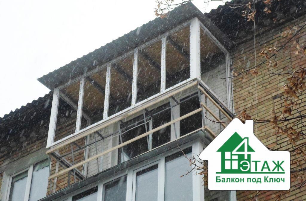 """Крыша для балкона по самой низкой цене """" казань информ - нов."""