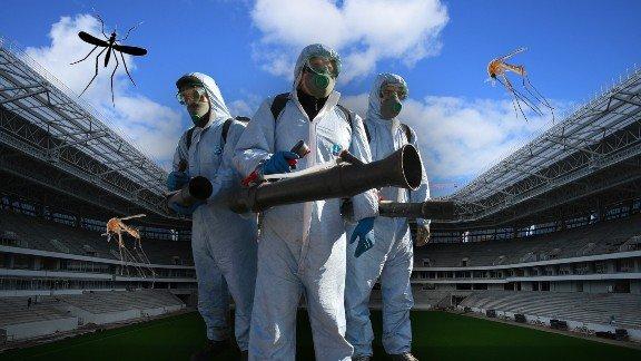 Впреддверии ЧМ-2018 Казань обработают против комаров