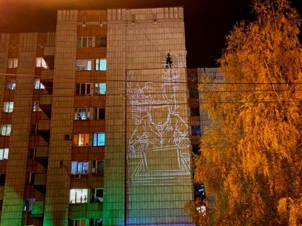 В Казани на фасаде дома по ул. Маршала Чуйкова появится мурал