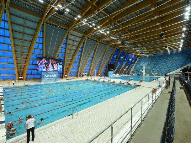 Чемпионат России по плаванию проходит в Казани