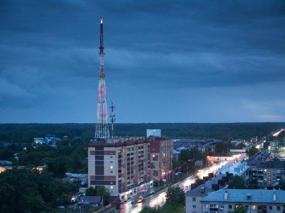 Казанская телебашня окрасится в фиолетовый цвет