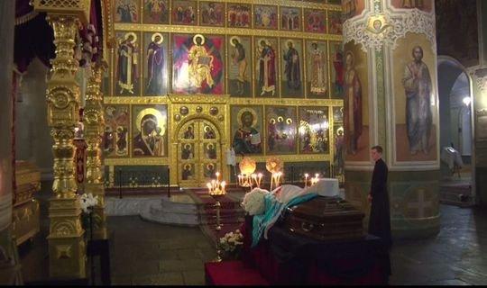 В Благовещенском соборе Казани прощались с митрополитом Феофаном