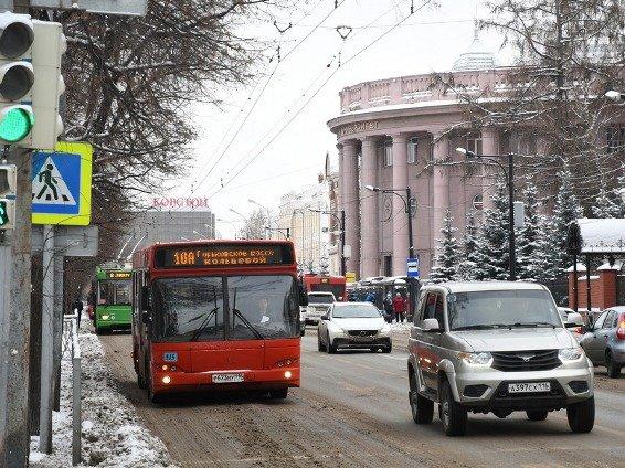 С начала года в Казани совершено 150 млн поездок на общественном транспорте