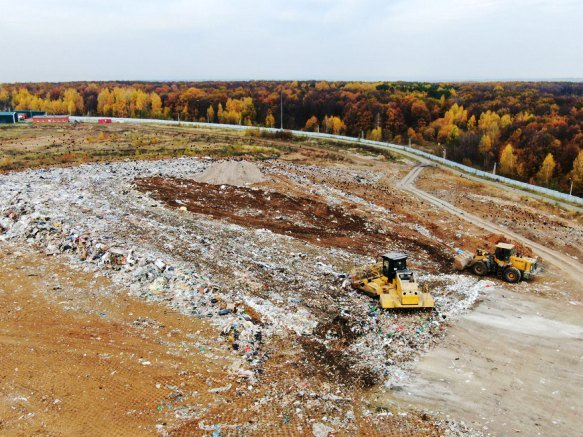 Для уменьшения неприятного запаха на полигоне «Восточный» в 2021 г. построят очистные сооружения
