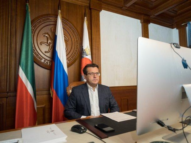 И. Метшин занял первое место в медиарейтинге глав столиц субъектов ПФО за ноябрь