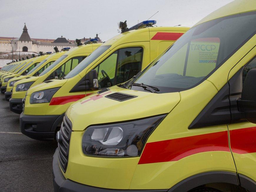 За неделю скорая помощь Казани выполнила 8 тыс. вызовов