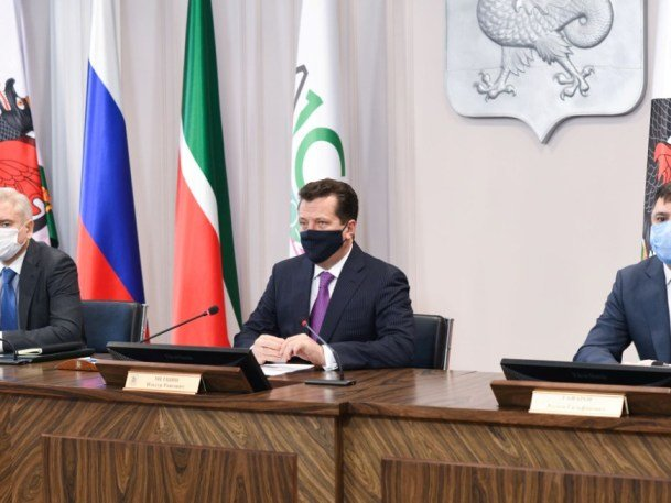 В Казани продолжается возведение спортивных объектов