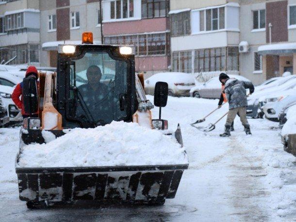 С начала сезона с улиц Казани вывезли 200,5 тыс. тонн снега